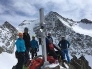 Gipfelgruppenbild