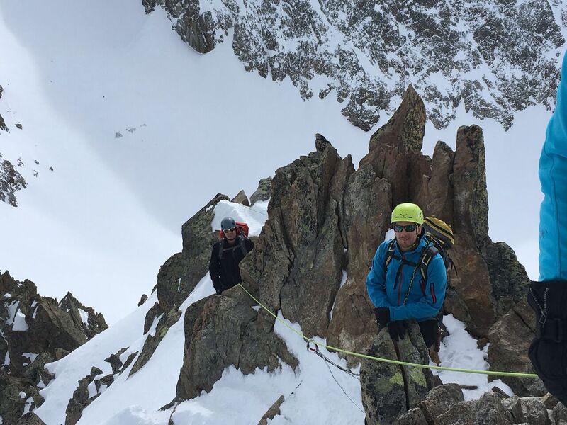 Klettersteigset Dav Test : Alpenverein karlsruhe skihochtourenkurs ein test für material