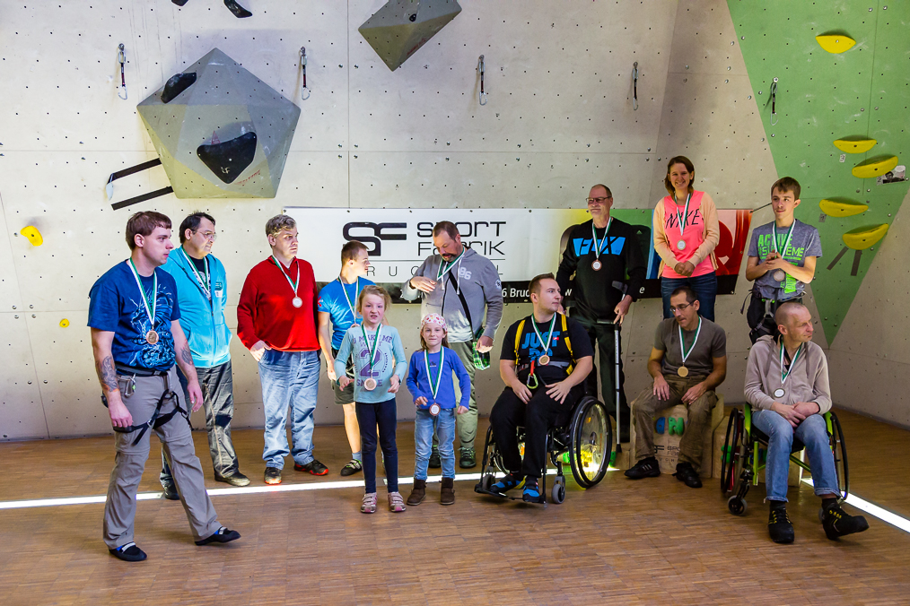 Paraclimbing Wettbewerb